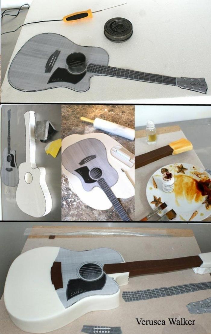 Tuto De Cake Design Sous Forme De Guitare 17 03 2019