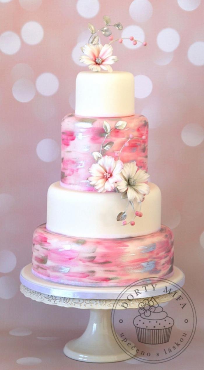 Gateau  Ef Bf Bd La Pistache Wedding Cake