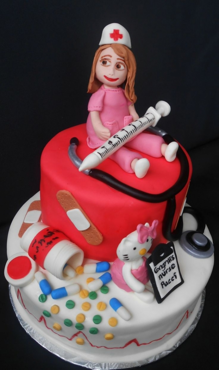 Birthday Cake Ideas For Nurses