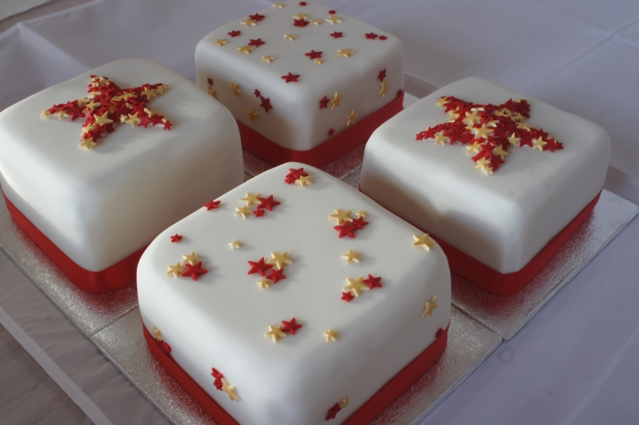 Miniature Rose Cake Decorations