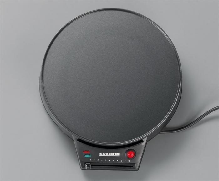 Appareil à Crêpe - Crépière 1000W à thermostat Severin