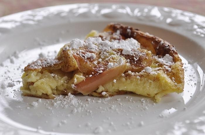 crêpe sucré - Recette Crêpe Pomme Canelle Néerlandais