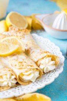 crêpe sucré - Recette Crêpe Citron Cheesecake