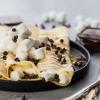 crêpe sucré - Recette Crêpe Oreo Chamallow pépites de chocolat