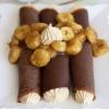 crêpe sucré - Recette Crêpe Chocolat Guimauve Banane