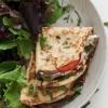 crêpe sucré - Recette Crêpe Gluten tomate basilic fromage de chèvre