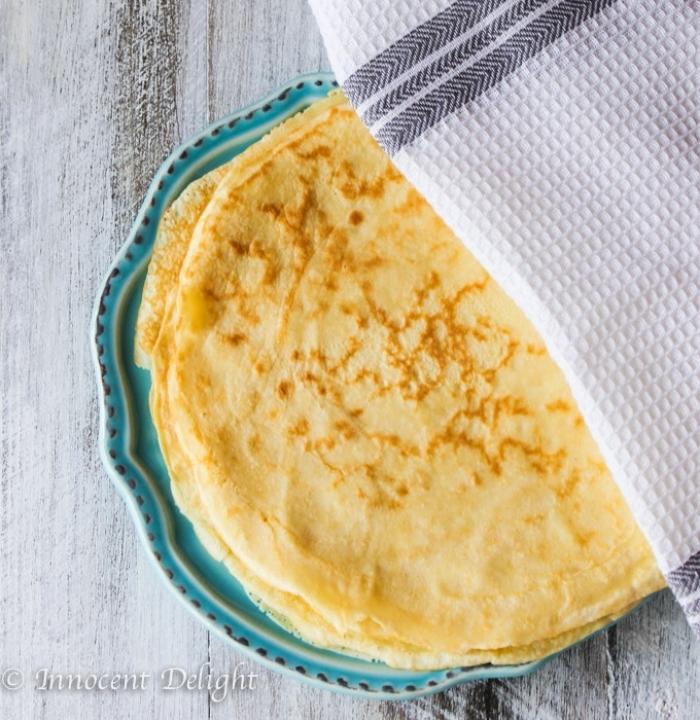 crêpe sucré - Recette Crêpe Traditionnelle Française