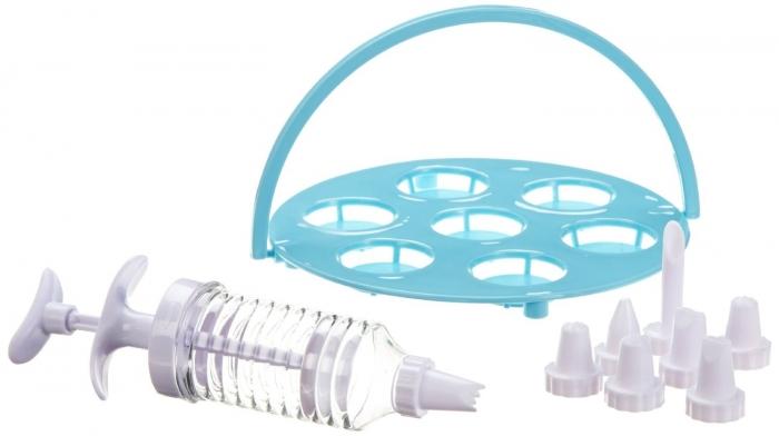 appareil cupcake machine muffin simeo fc620 rose bleu. Black Bedroom Furniture Sets. Home Design Ideas