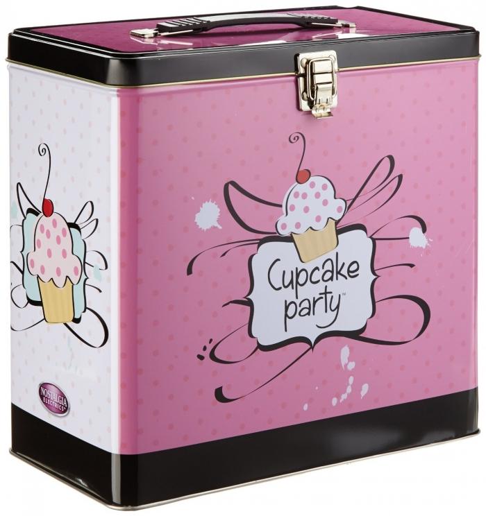 Appareil à Cupcake - Machine à Muffin Simeo FC620 Rose/Bleu