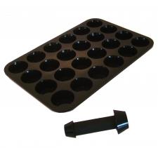 Appareil à Cupcake - Moule Silicone pour 24 Cupcakes