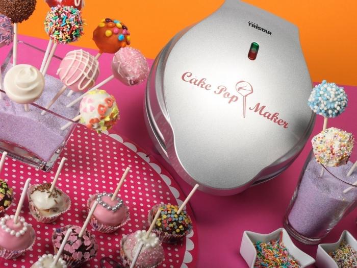 Appareil à Cupcake - Appareil à cuisson de Pop Cakes Tristar
