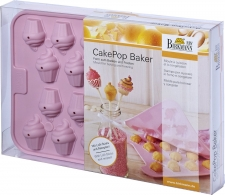 Appareil à Cupcake - Moule à 22 Cakepops Forme de Cupcakes Silicone