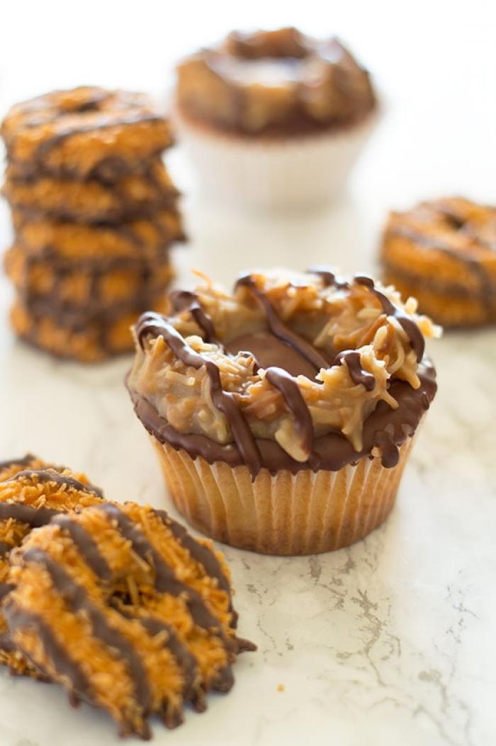 cupcake - Recette Cupcake Chocolat Caramel Noix de COCO