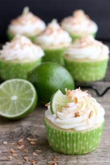 cupcake - Recette Cupcake Noix de COCO citron Vert
