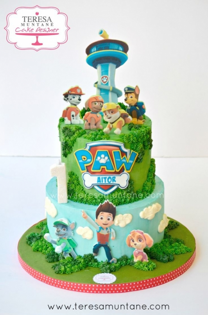Magnifique Cake Design De La Pat Patrouille Pour Un Anniversaire