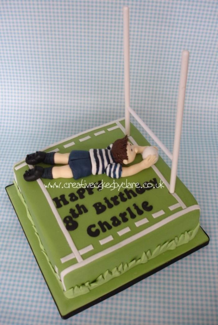 Gâteau Danniversaire Pour Un Rugbyman 23012019