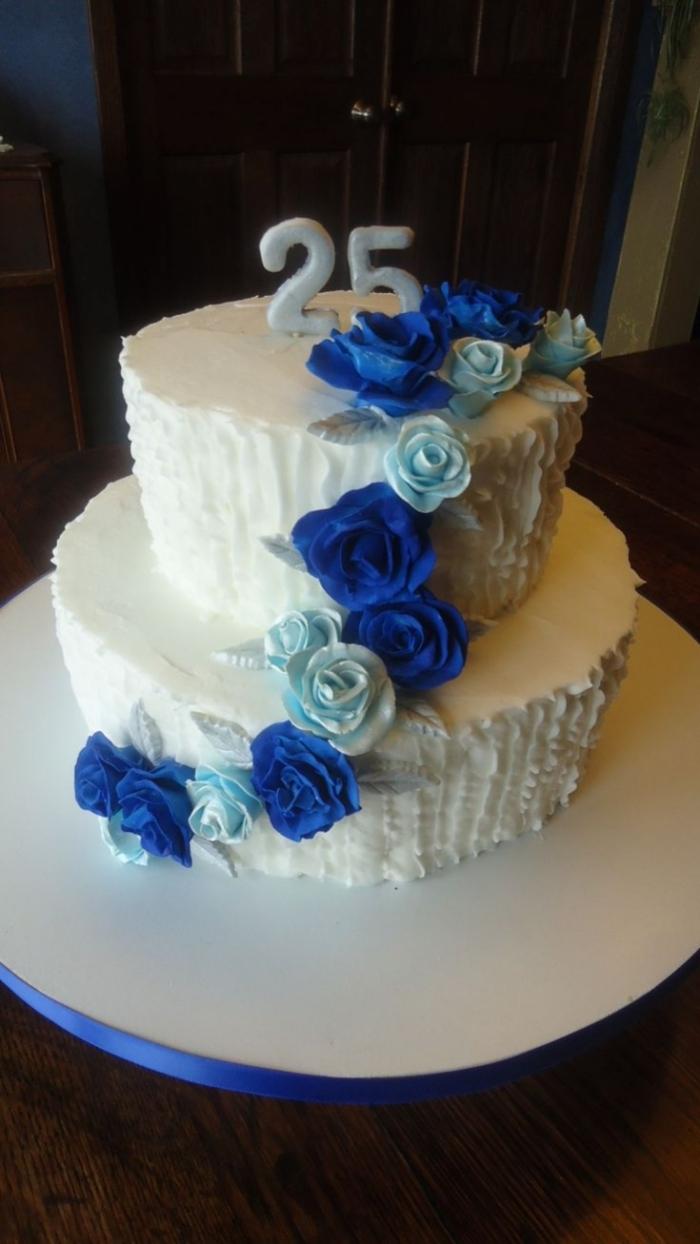 Royal Chocolat Wedding Cake
