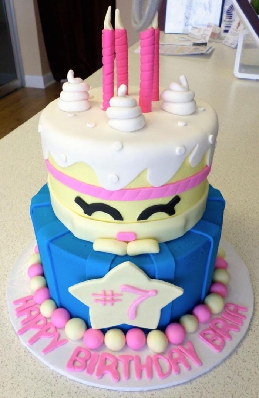 gâteau manga farfelu pour un anniversaire - 13/01/2018