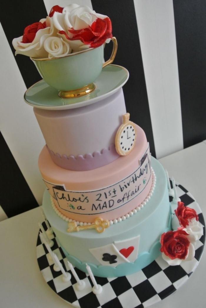 Moules Weeding Cake