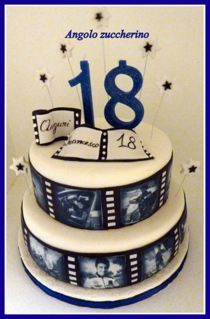 gateau anniversaire 18 ans garcon jackshite. Black Bedroom Furniture Sets. Home Design Ideas