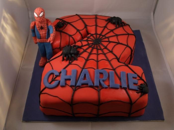 Gateaux anniversaire spiderman