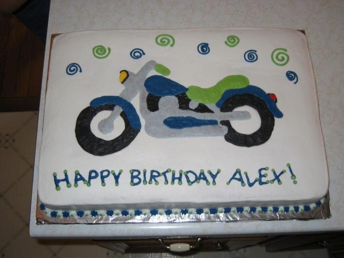 Fabuleux Idée de gâteau d'anniversaire avec une moto - 24/12/2017 HI13