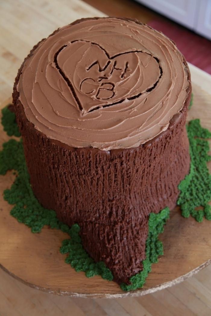 Recette De Tree Chocolat Cake