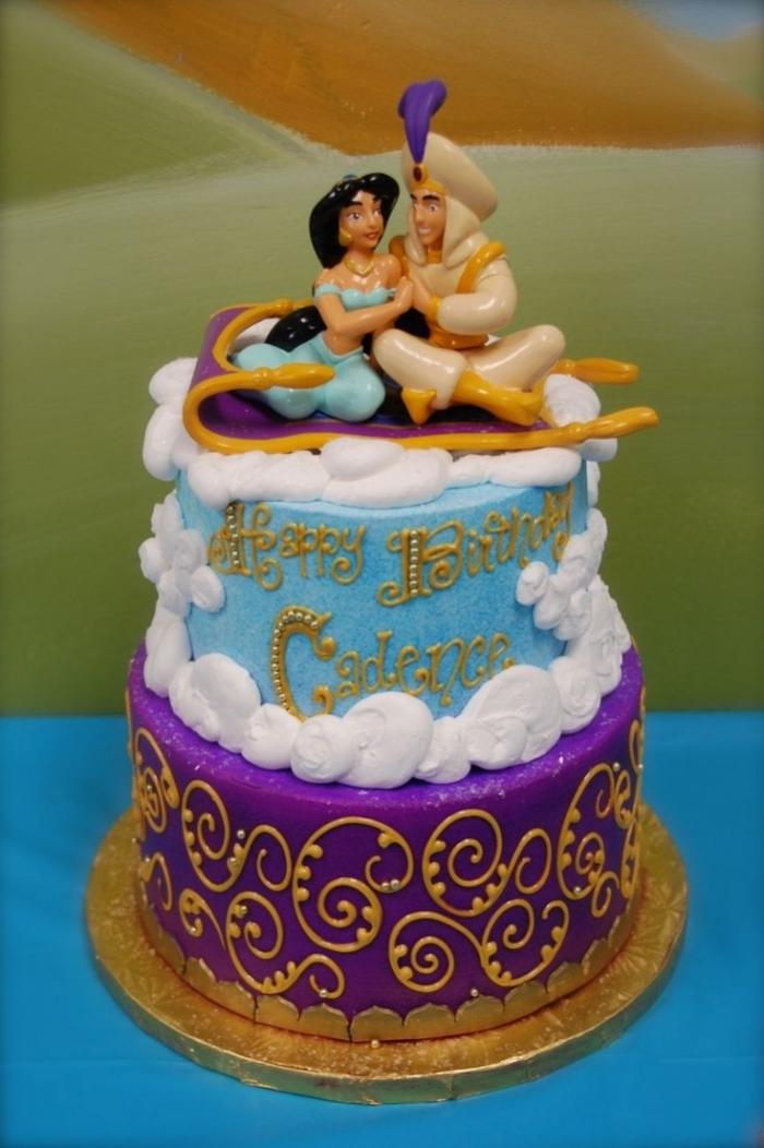 Recette gateau d anniversaire disney arts culinaires magiques - Gateau anniversaire disney ...