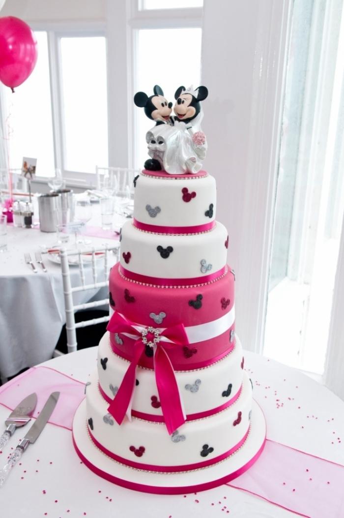 Très belle idée de Gateau de mariage pour les fans de Disney - 27 ...