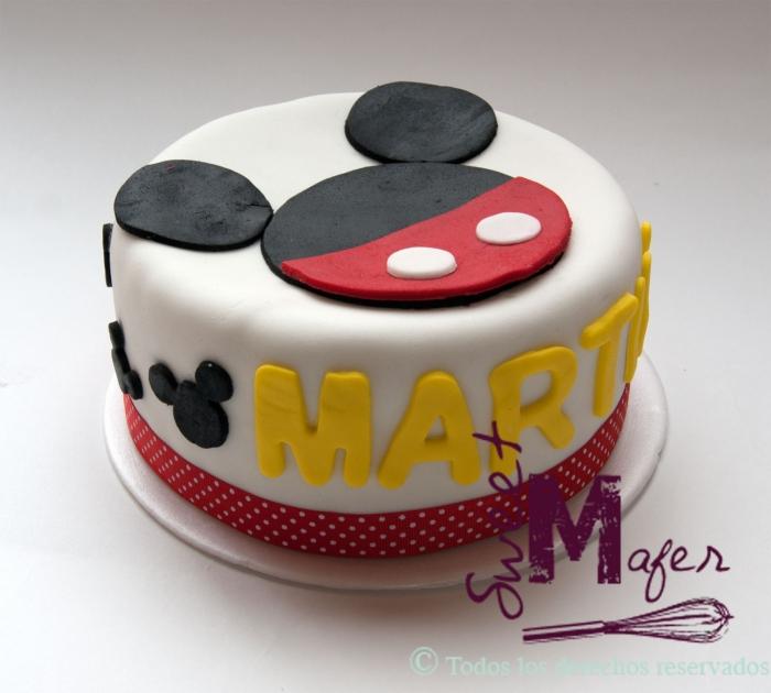 Préférence Gateau d'anniversaire Disney Mickey facile à réaliser - 31/01/2018 FN69