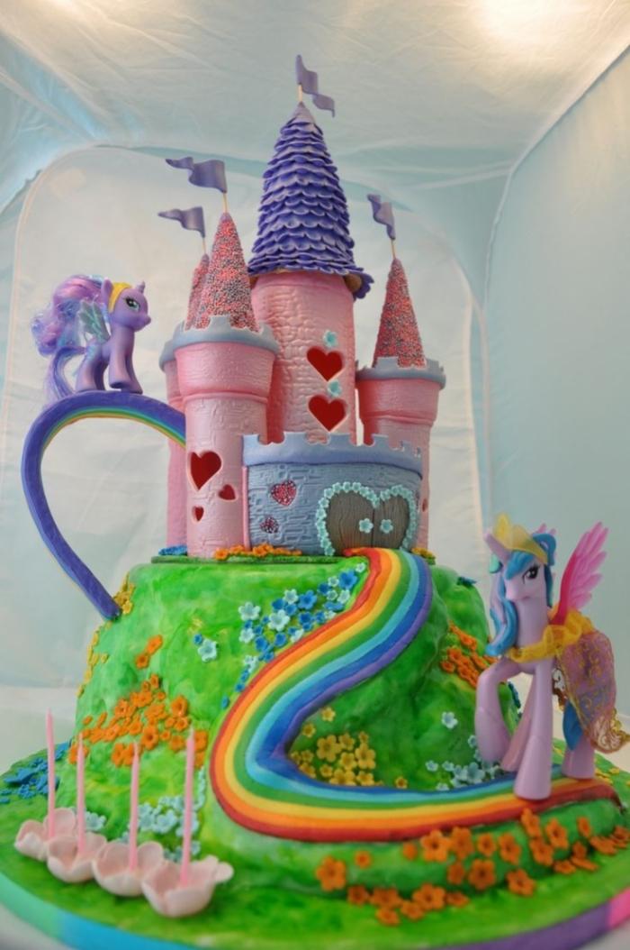 Bien-aimé Super gâteau mon petit poney - 30/01/2018 HK64