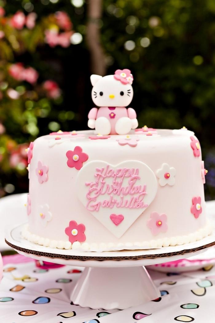 Cake Design Hello Kitty En Degrade De Roses 16 03 2019