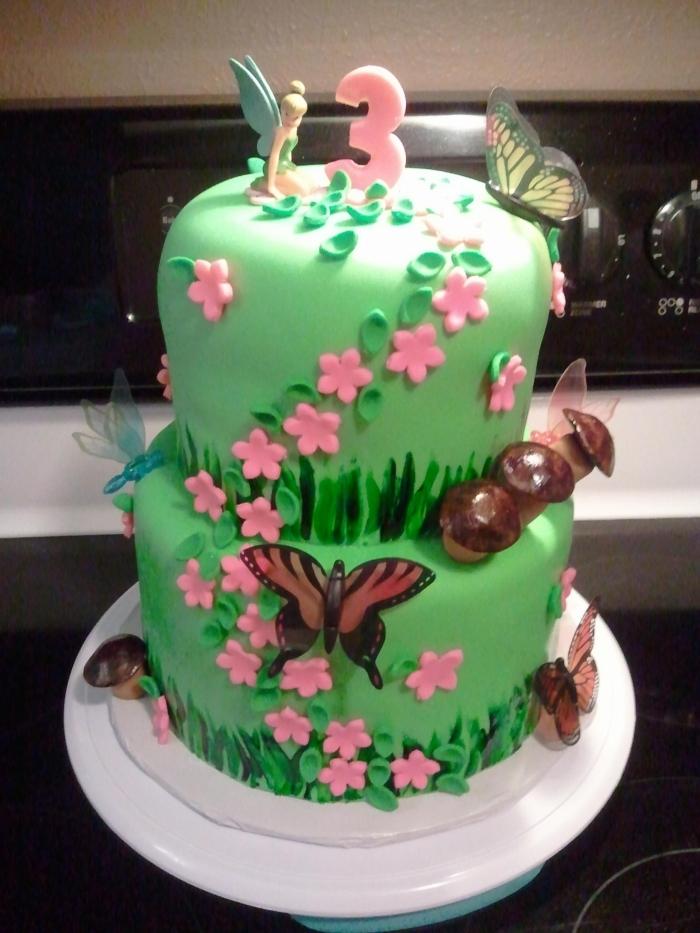 Cake Design La Fee Clochette Effet Nature 17 03 2019