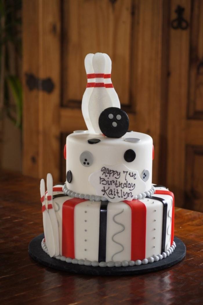 Cake Design Pour L Anniversaire D Une Fan De Bowling 18 03 2019