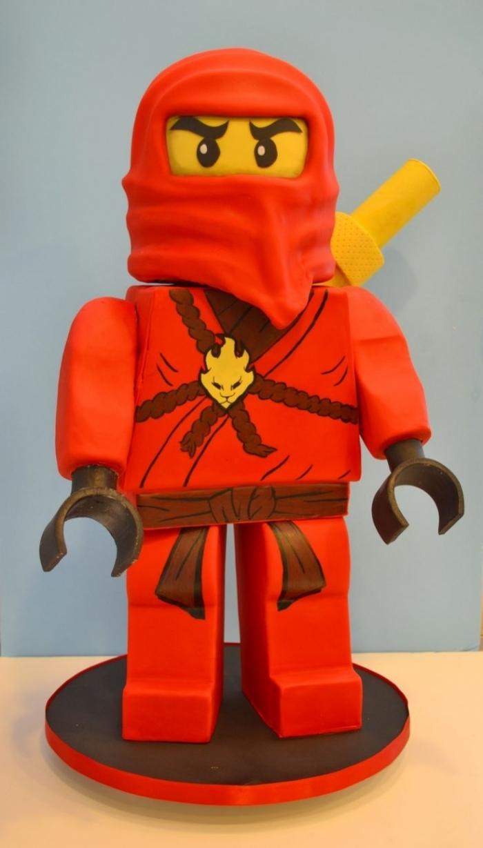 gateau pour garon gteau de ninjago rouge - Ninjago Rouge