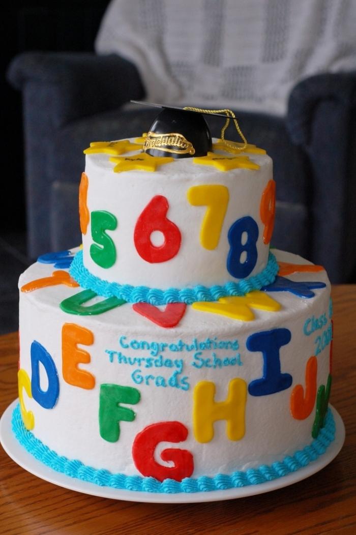 cake anniversaire ecole