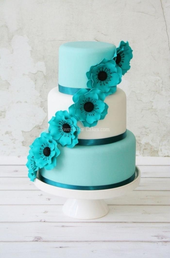 Pop Cake Recette Bleu