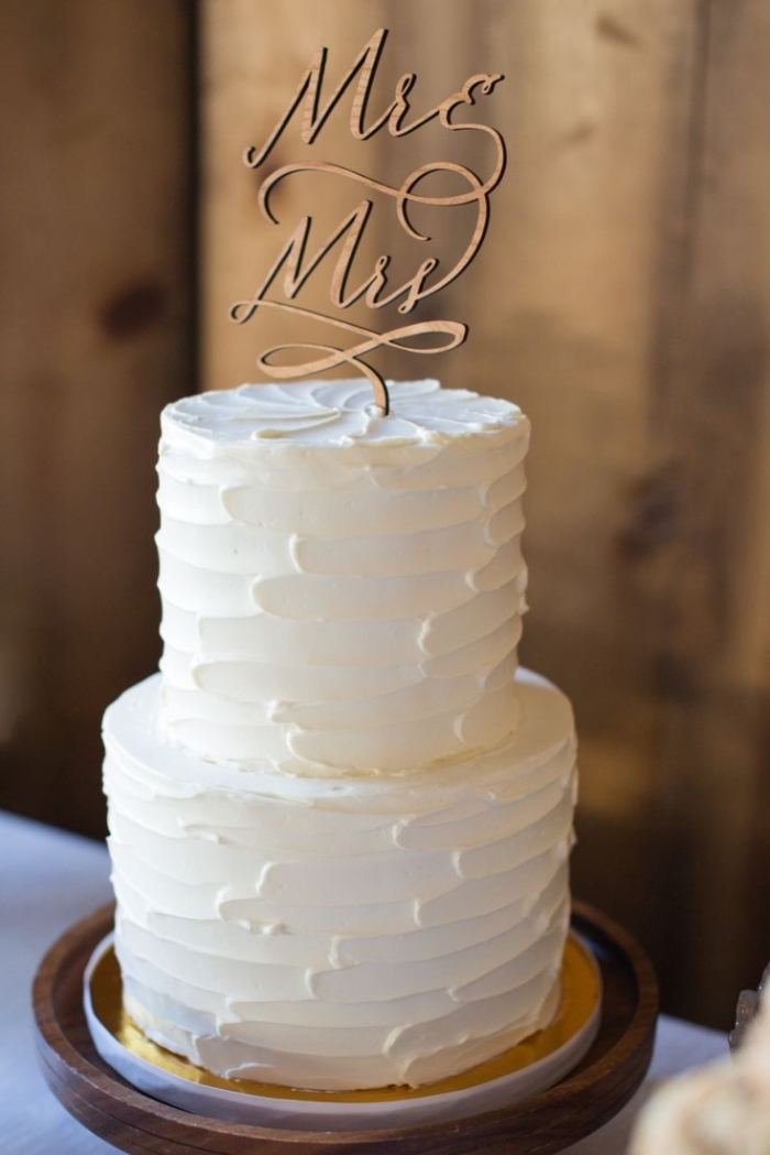 Gateau Decoration Simple : Decoration gateau mariage simple