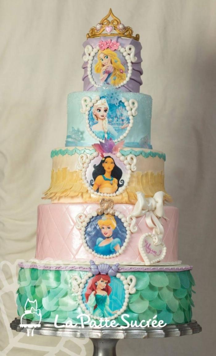 Little Princess Cake Decorations