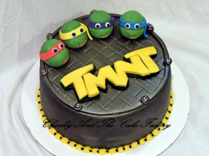 Célèbre Très beau gâteau des tortues ninja pour un adolescent - 23/12/2017 UT14