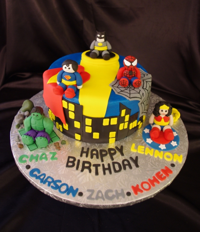 Cake Designs For A  Year Old Boy