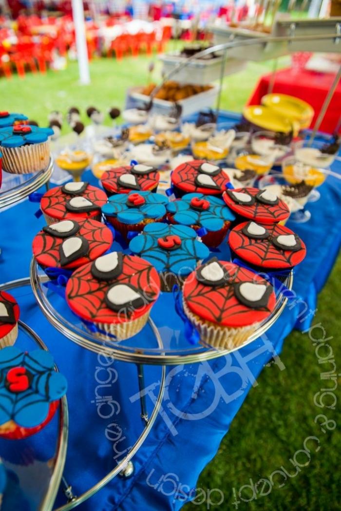 Cupcakes Spiderman Pour Un Anniversaire 09 03 2019