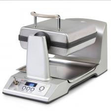 Appareil à Gaufre - Domo DO-9043W Gaufrier Semi-Professionnel Automatique Inox 1400 W