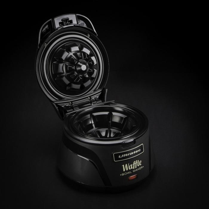 Appareil à Gaufre - Appareil à gaufres en forme de bol Ultratec CWE750