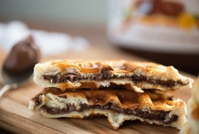 gaufre sucré - Recette Gaufre Farcie au nutella