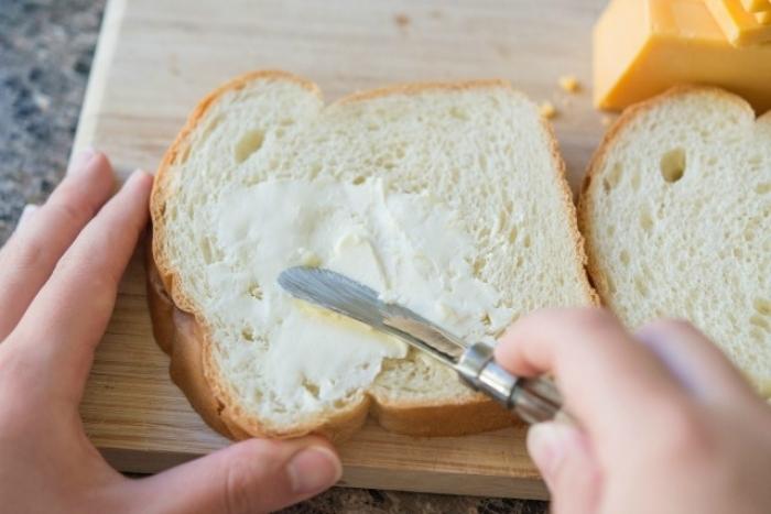 gaufre salé - Recette Gaufre Sandwich au fromage grillé