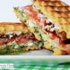 gaufre salé - Recette Gaufre Sandwiche Frais