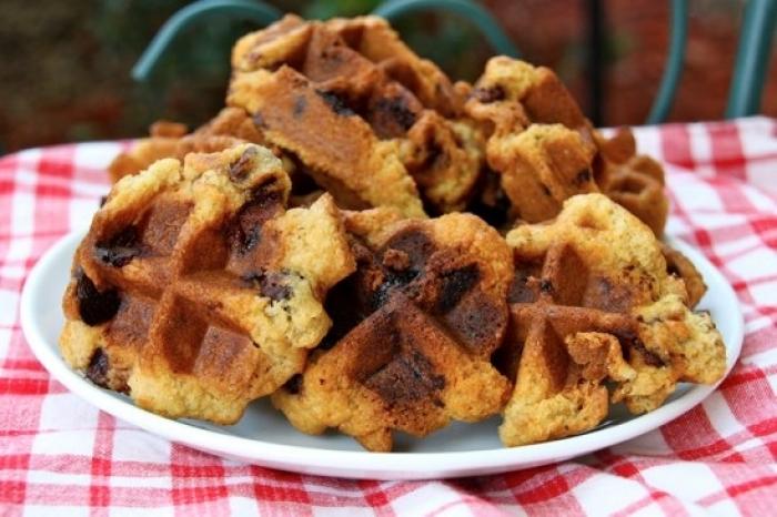 gaufre sucré - Recette Gaufre Cookies