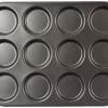 Appareil à Macaron - Plaque Macaron Whoopies Anti-adhésif 12 moules