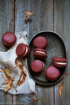 macaron - Recette Macaron Rouge Velours